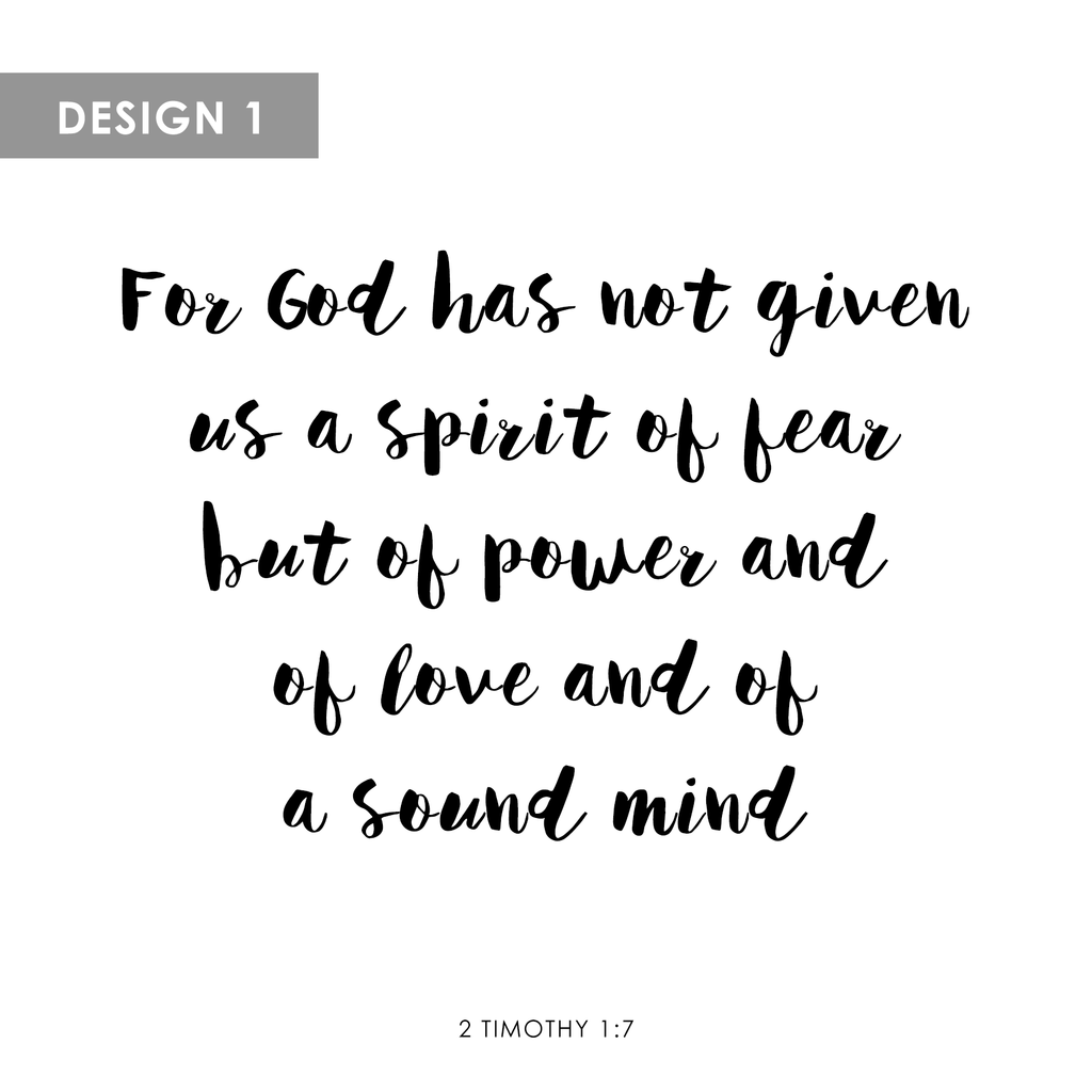 Personalized Canvas 2 Timothy 17