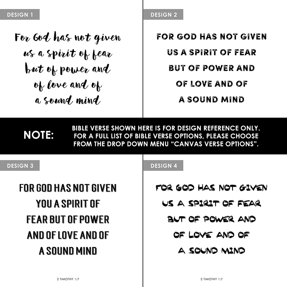 1 Personalized Complete Bible & 1 Personalized Canvas (12