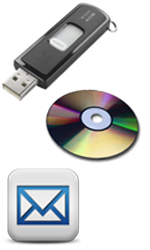 Flash drive, CD & Email PPB versions